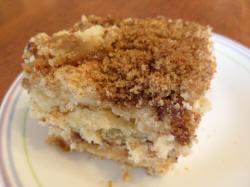 Brown Sugar Cinnamon Coffee Cake