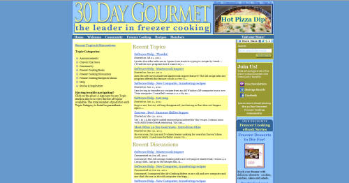 Advantage Cooking Software – 30 Day Gourmet